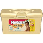 Huggies ® Soft Skin Baby Wipe Pop-up Tub, Pleasant, Fresh Scented, Alcohol-free - PK of 64 EA