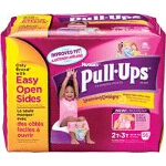 Pull-Ups Girls Training Pants, 2T/3T, Big Pack - PK of 58 EA