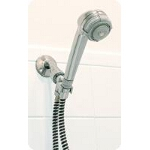 Mabis DMI Healthcare Deluxe Hand-held Shower Massager, Chrome, with Flexible 60
