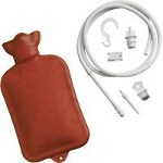 Mabis DMI Healthcare Combination Douche and Enema System with Water Bottle, 1-1/2
