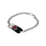 Apothecary Products Inc Diabetic Medical Alert Bracelet - 1 EA