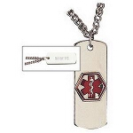 Apothecary Products Inc Epilepsy Emergency Alert Necklace 24