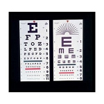 Alimed Inc Snellen Eye Chart, 22