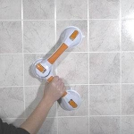 Suction Cup Grab Bars, 19 3/4