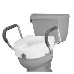 Nova Ortho-Med Raised Toilet Seat with Extra Wide Arms 15