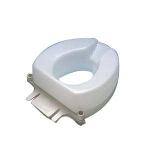 Maddak Inc Tall-Ette ® Elevated Toilet Elongated Seat with Lok-In-El ® Bolt-down Bracket 2
