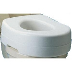 Carex ® Raised Toilet Seat, 15