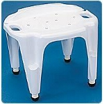 Carex ® Adjustable Composite Bath and Shower Seat, 25-1/4