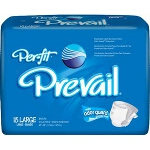 Prevail Per-Fit Adult Brief X-Large Fits 59