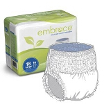 Professional Medical Embrace Adult Skin Caring Underwear Large, 58