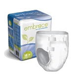 Professional Medical Embrace Super-absorbency Brief Regular, 40