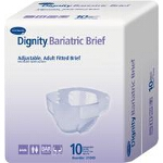 Dignity ® Bariatric Adult Fitted Brief Maxiumum Protection 63