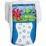 Kendall Healthcare Curity Runarounds Boy Training Pants Large, 3T-4T, 32lb to 34lb, Stretchy Sides and Waistbands - Qty: BG of 23 EA