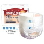 Tranquility ATN (All-Through-the-Night) Disposable Brief Large, 45