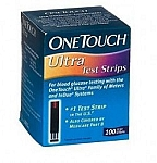 Lifescan One Touch Ultra Test Strips 100/Box -FREE SHIPPING-