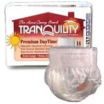 Tranquility Premium DayTime Adult Disposable Absorbent Underwear Large, 44
